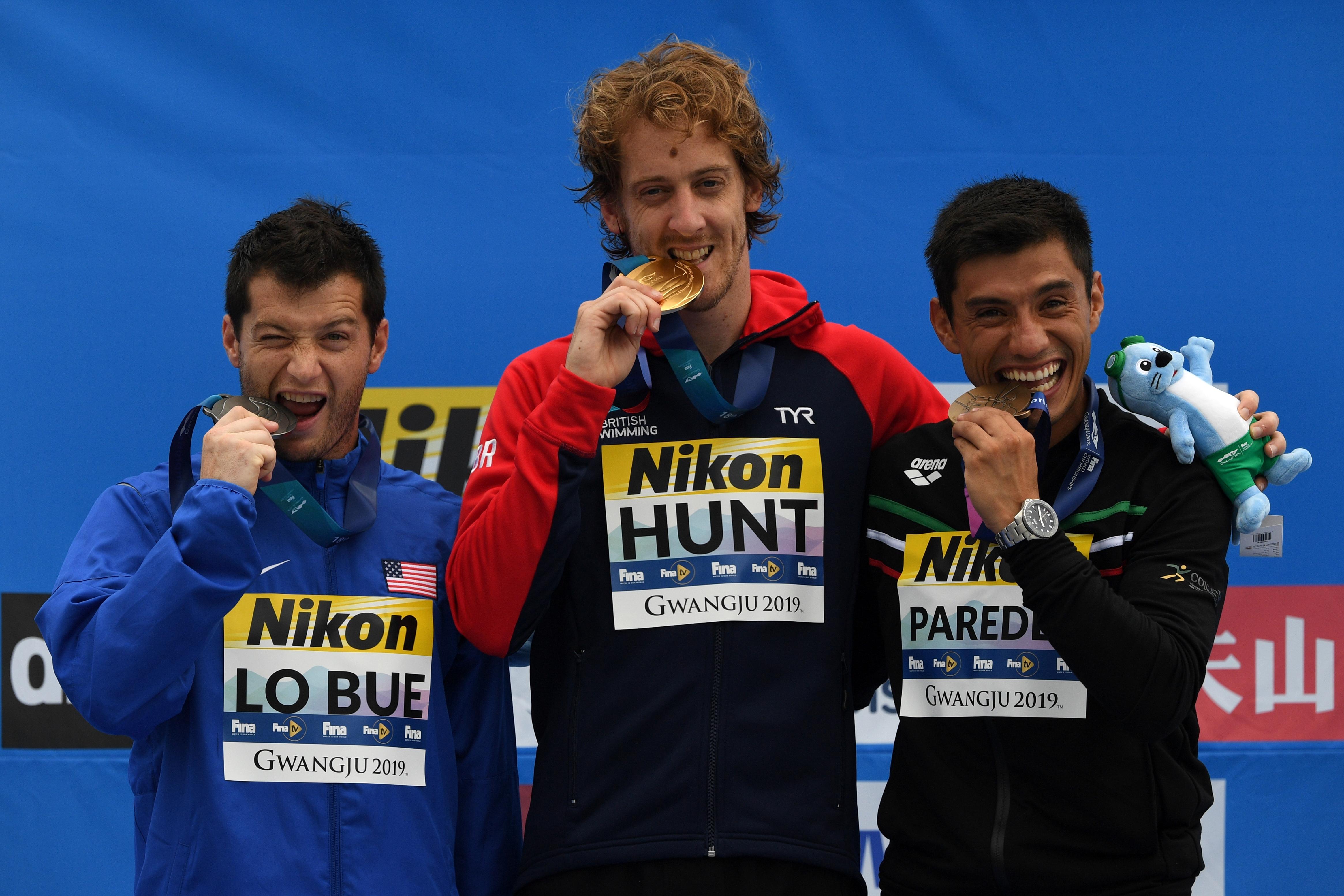 jonathan paredes mundial de natacion medalla bronce