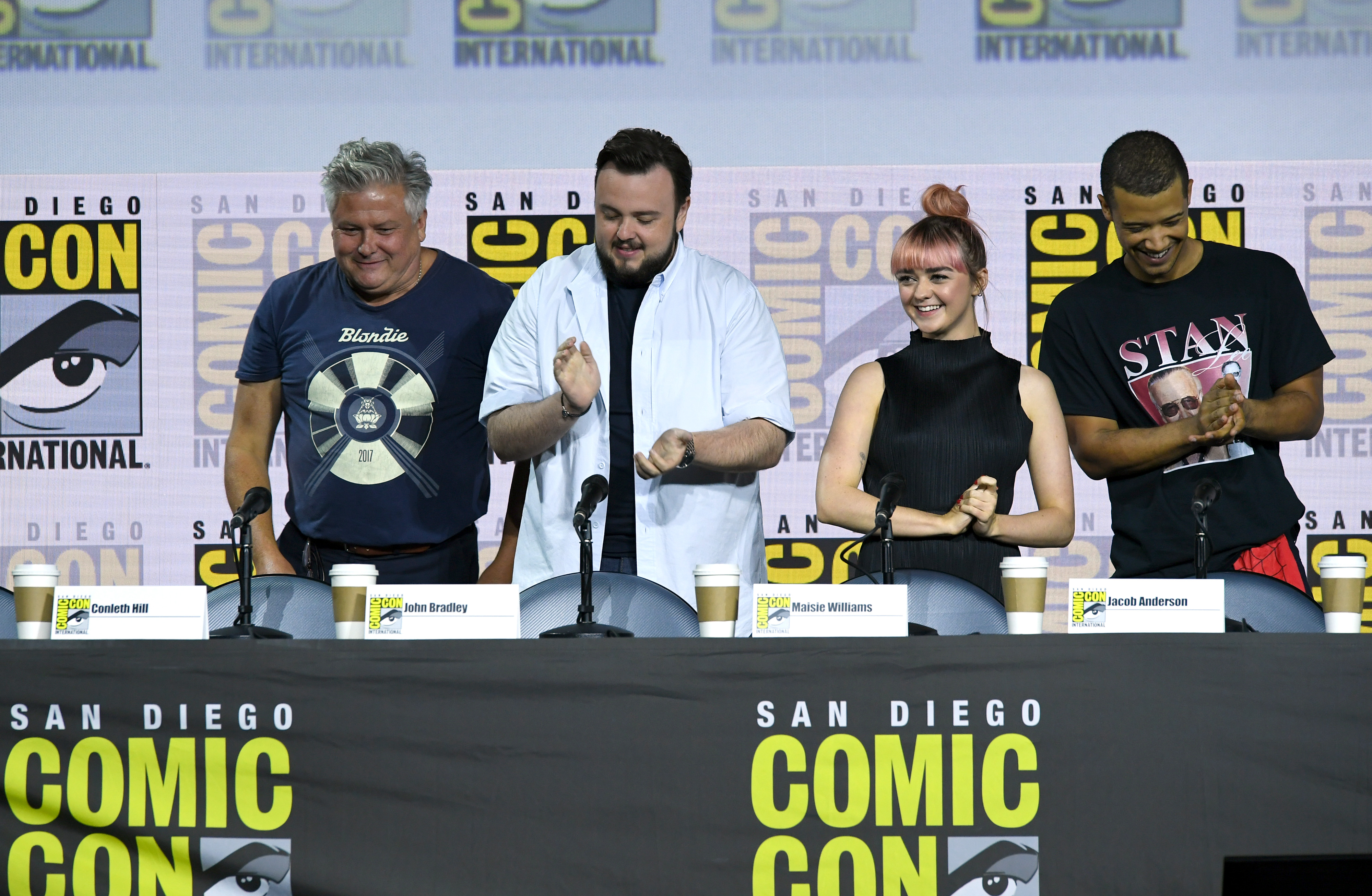 actores game of thrones comic con san diego