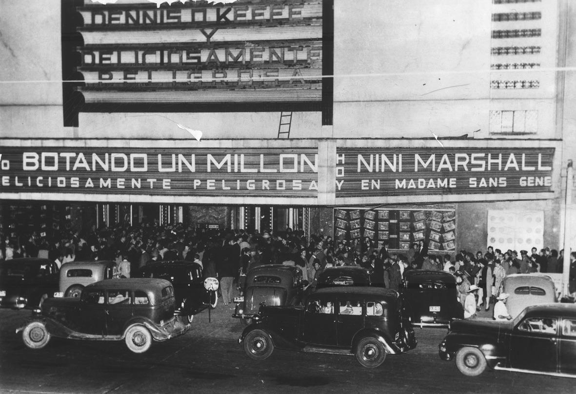 Durante mucho tiempo, el Cine Teresa proyectó estrenos internacionales