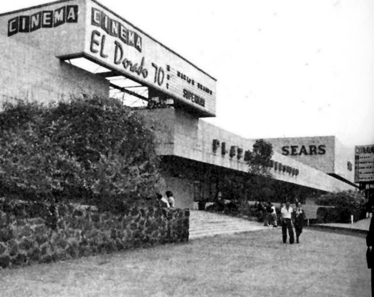 Uno de los primeros multicinemas fue el de Plaza Universidad