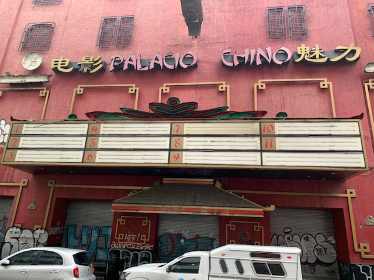 El cine Palacio Chino en CDMX está abandonado desde hace algunos años