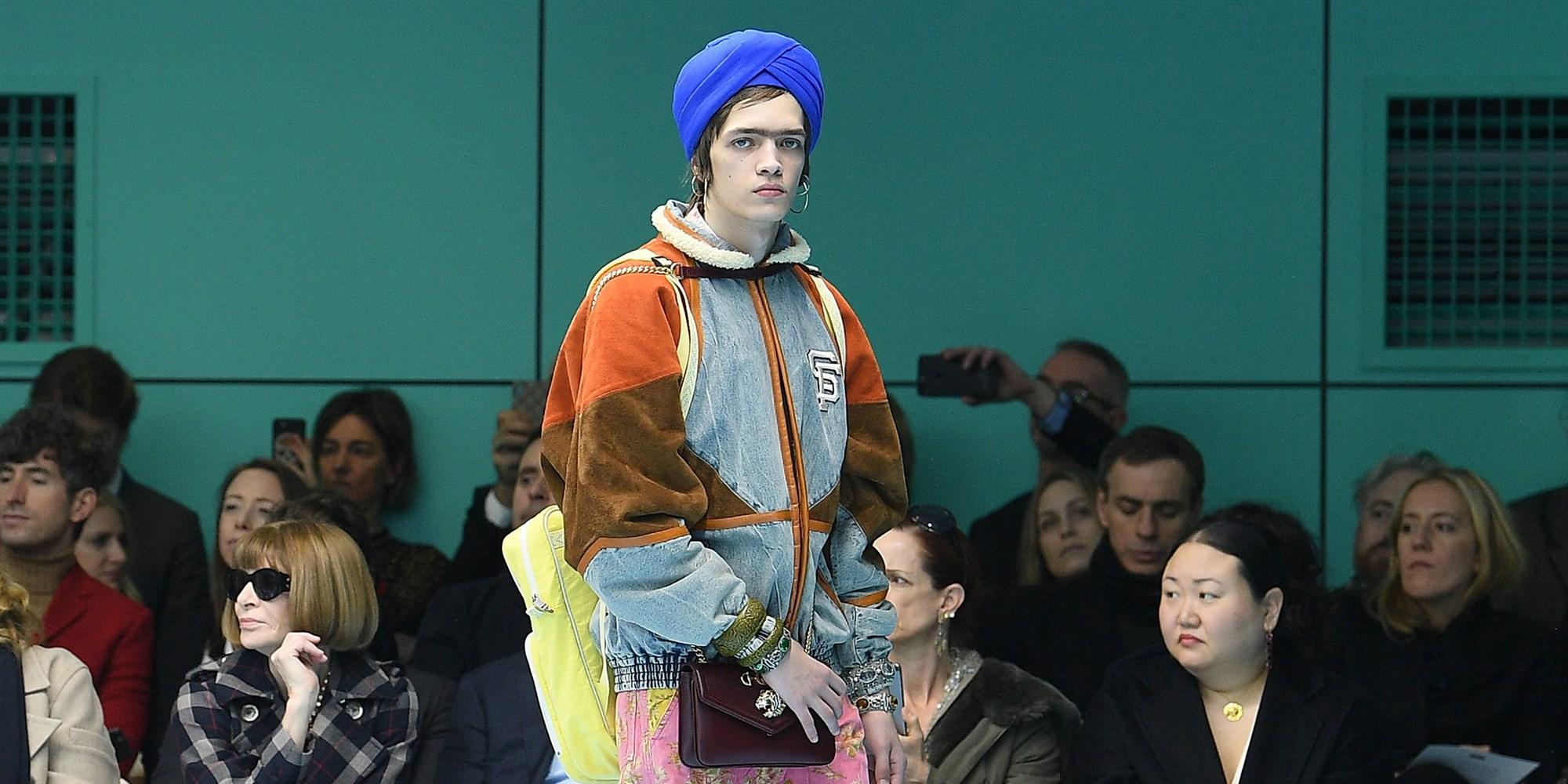 Turbante Gucci señalado por tratarse de un caso de apropiación cultural