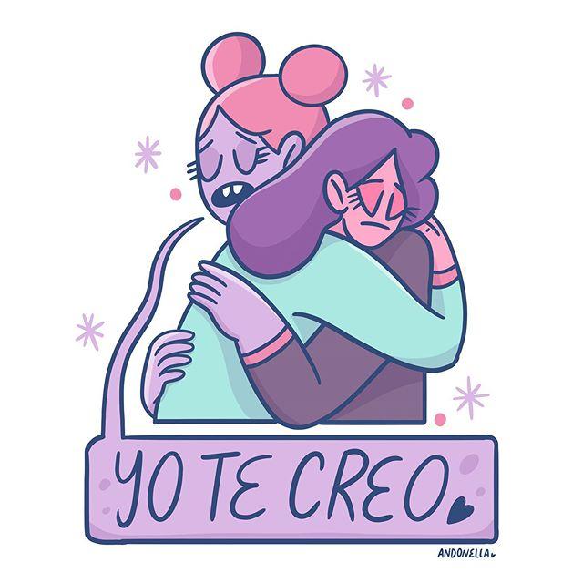 Las ilustradora mexicana Andonella ilustró Amiga Date Cuenta