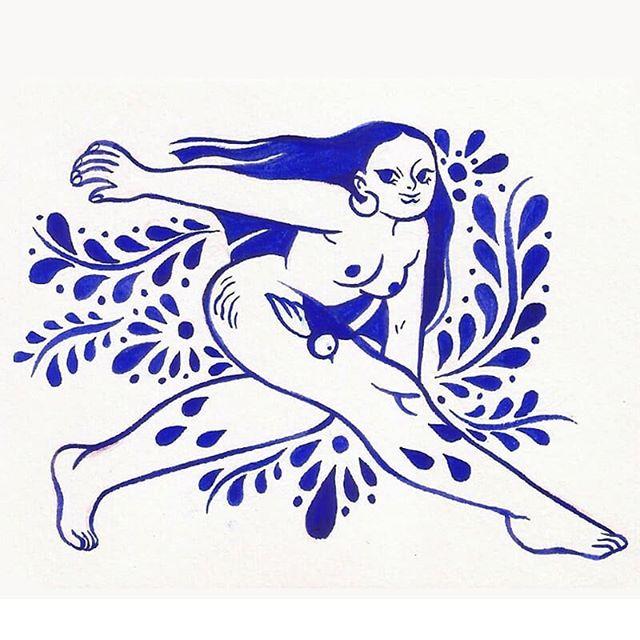 La ilustradora mexicana Día Pacheco presenta mujeres voluptuosas llenas de color y fuerza