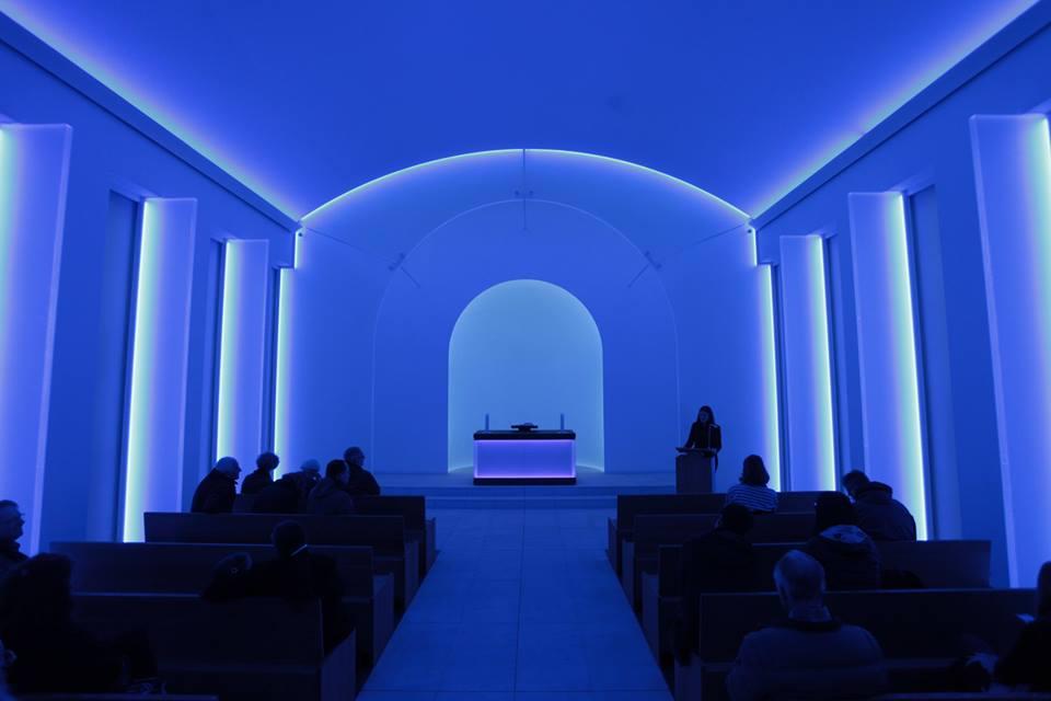 James Turrell intervino una capilla en Berlín, Alemania