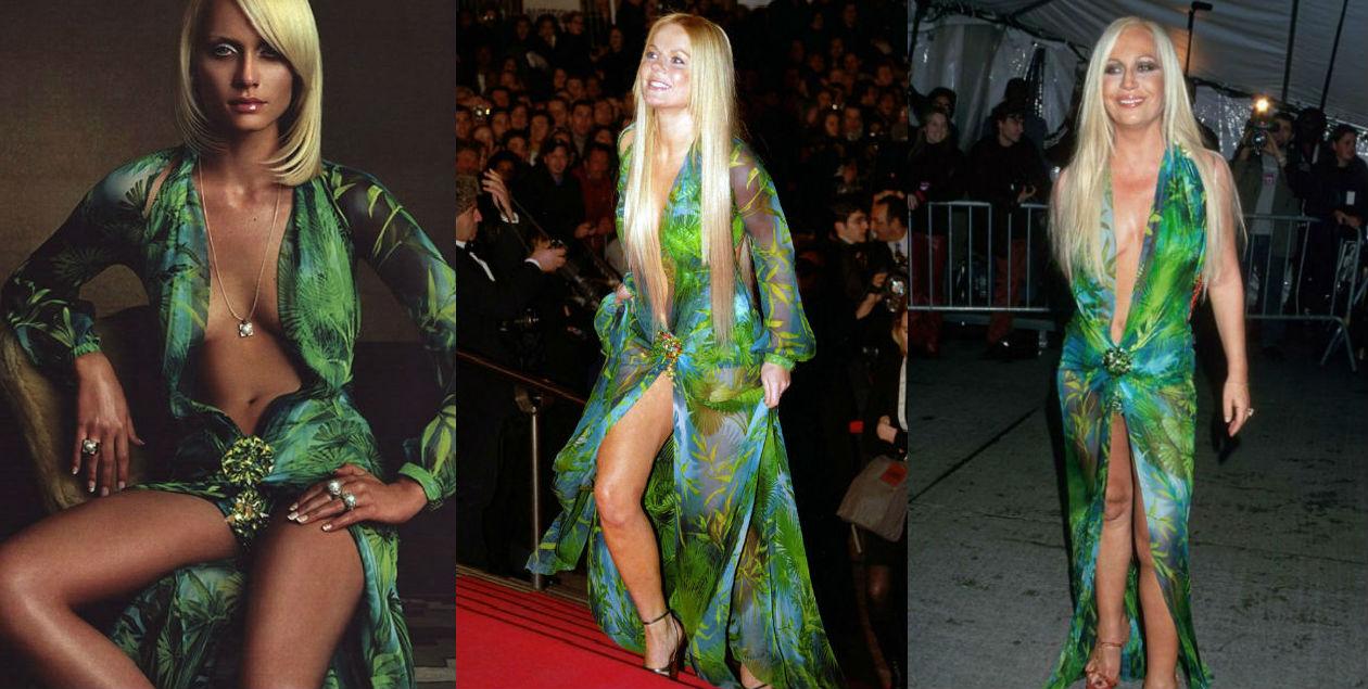 Jennifer Lopez no fue la primera en usar el icónico vestido Versace verde