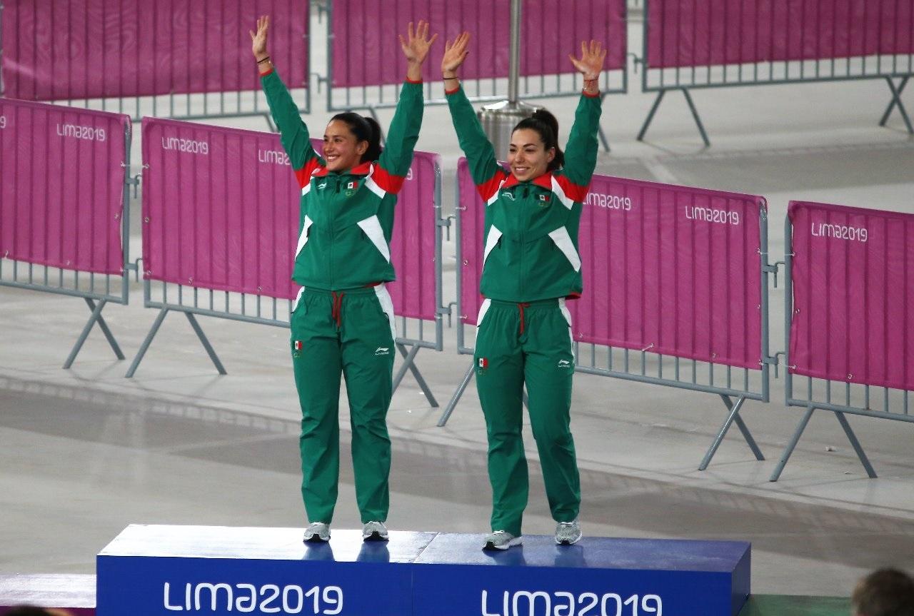 Daniela Gaxiola y Jessica Salazar rompen récord en los Juegos Panamericanos 2019