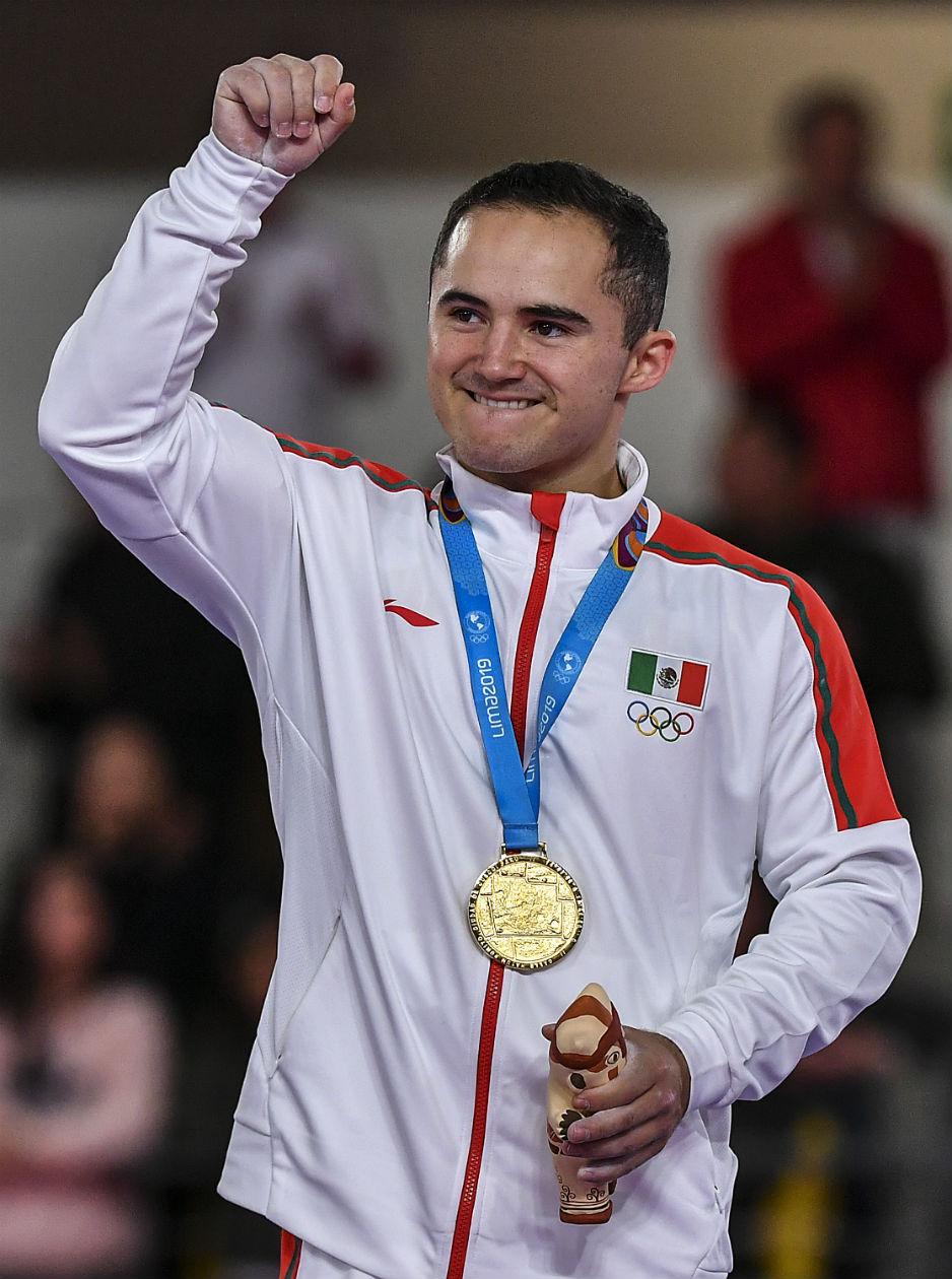 Fabián de Luna gana oro en gimnasia en los Juegos Panamericanos 2019