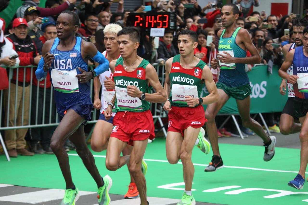 José Luis Santana y Joel Pacheco en los Juegos Panamericanos 2019