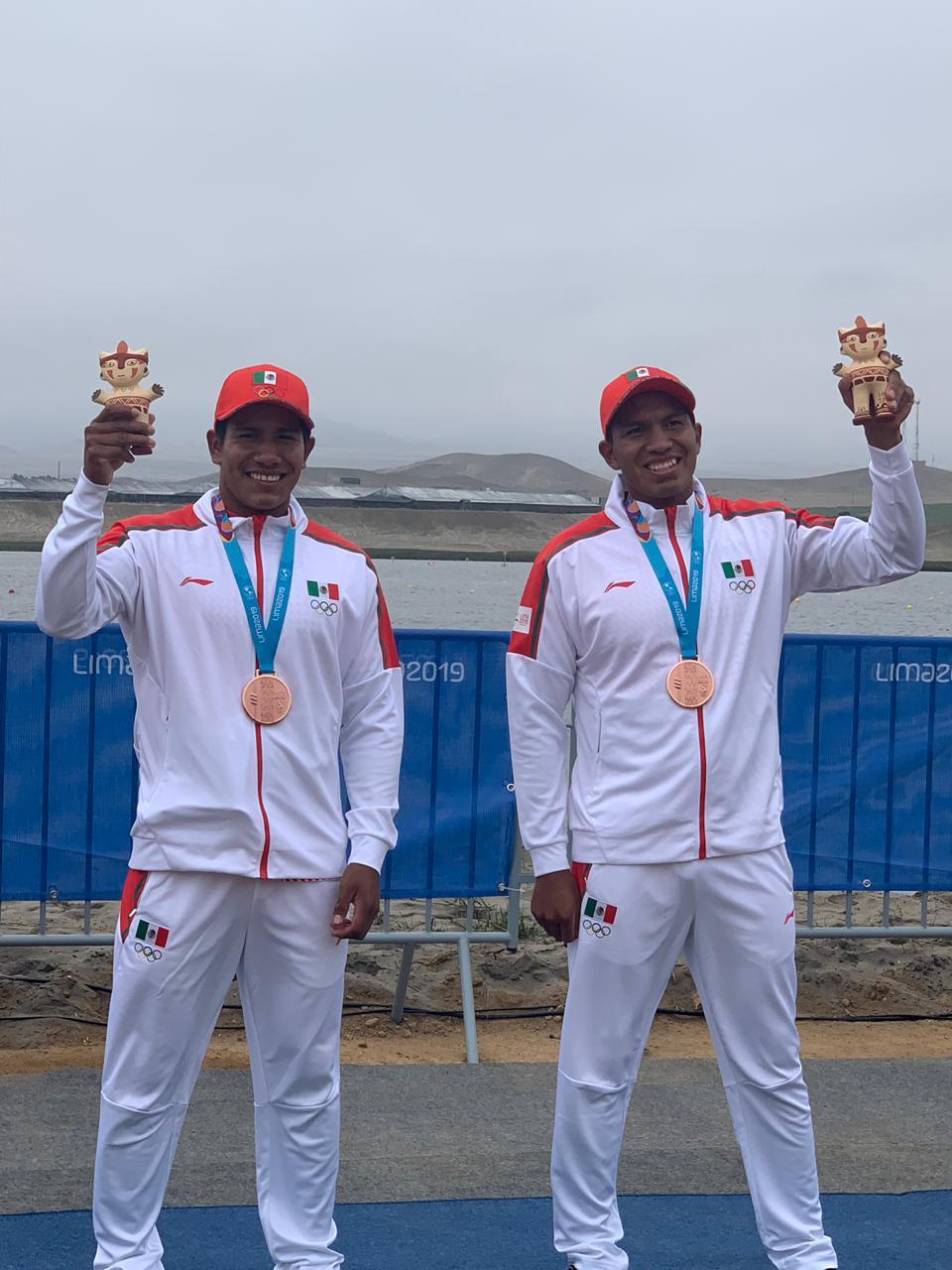 Rigoberto Camilo y Guillermo Quirino en los Juegos Panamericanos 2019