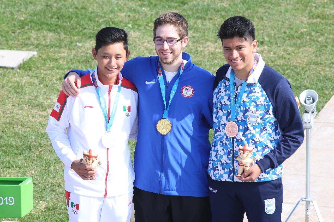 Edson Ramírez gana medalla de plata en los Juegos Panamericanos 2019
