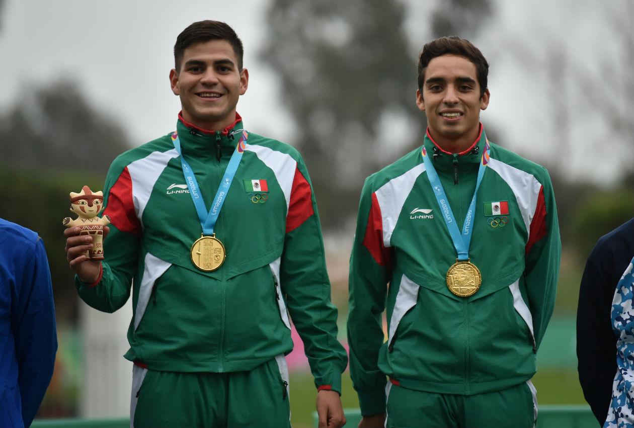 Duilio Carrillo y José Silva ganan oro en pentatlón moderno de los Panamericanos 2019