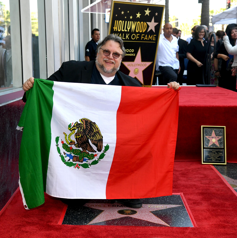Guillermo del Toro estrella paseo de la fama historias de miedo para contar en la oscuridad
