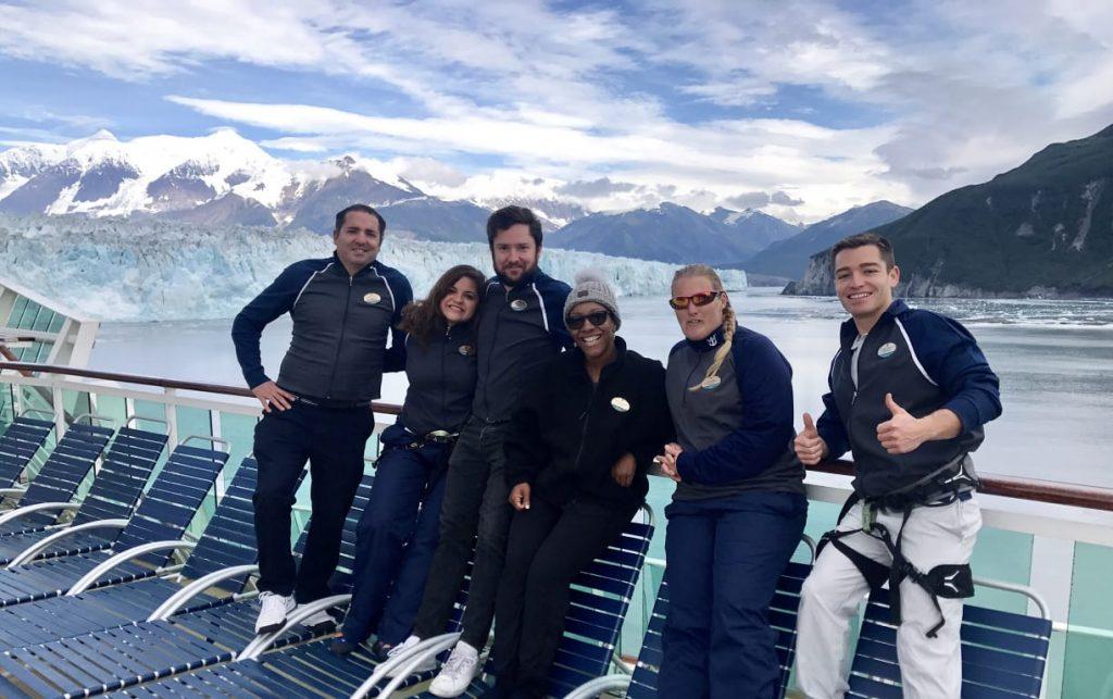 Valeria y su equipo de trabajo. Cortesía: Valeria Zenil