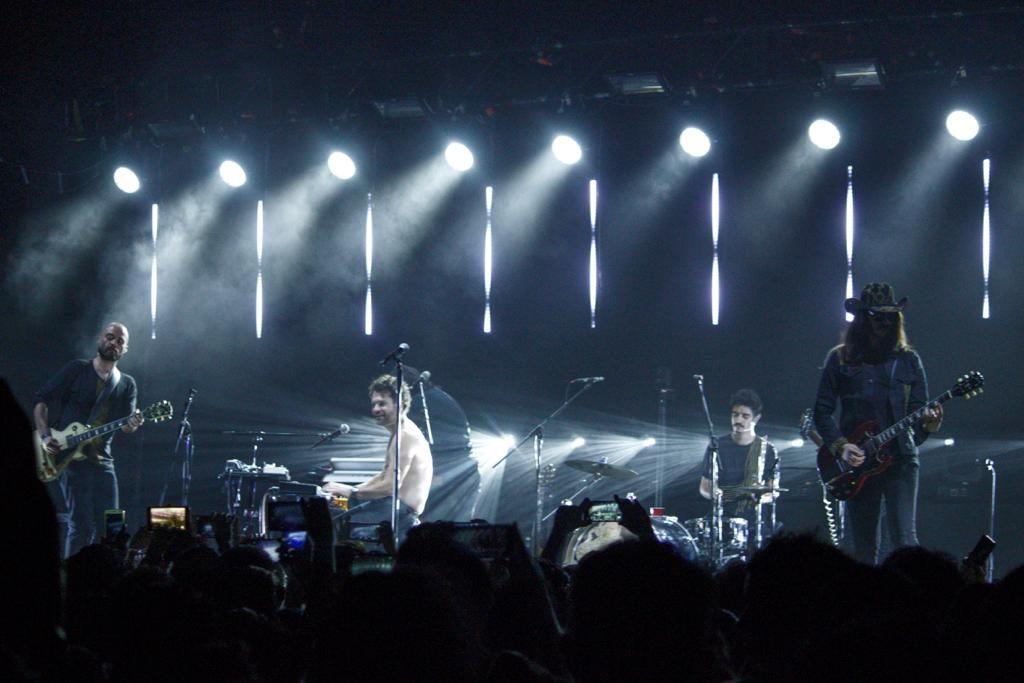"""La banda inició el concierto con """"Un millón de estrellas"""". Foto: Ethan Murillo"""