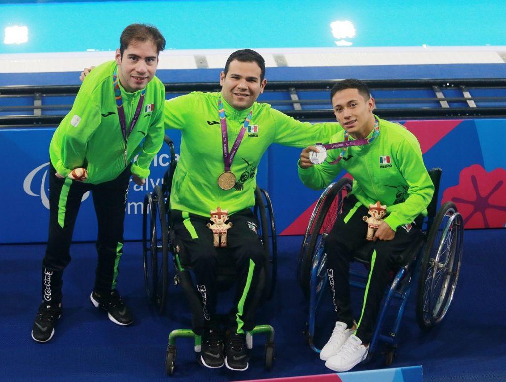 Diego López, Marcos Zárate y Luis Burgos se llevaron oro, plata y bronce respectivamente.