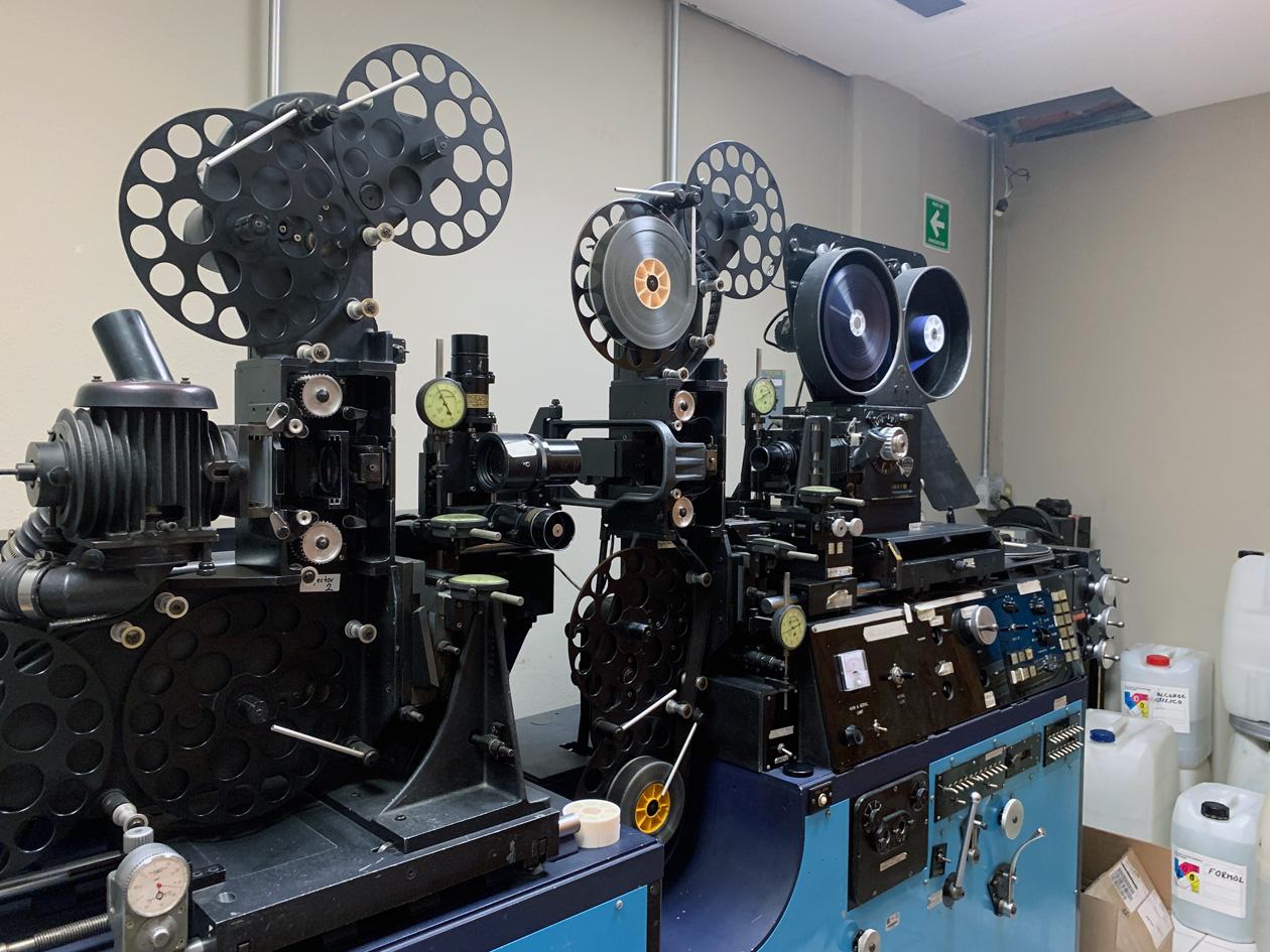 La Filmoteca de la UNAM tiene laboratorios de digitalización para las películas