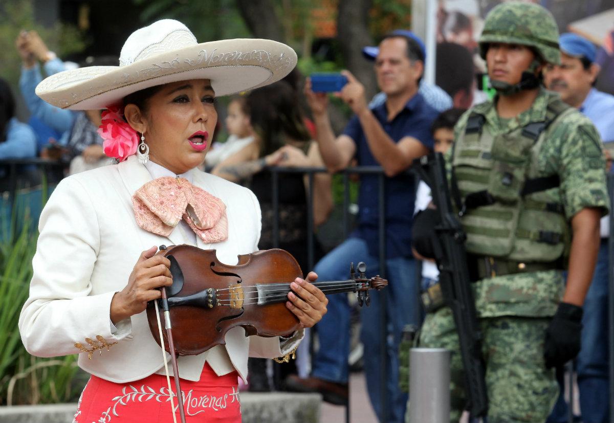 México record guiness mariachi danza floclorica