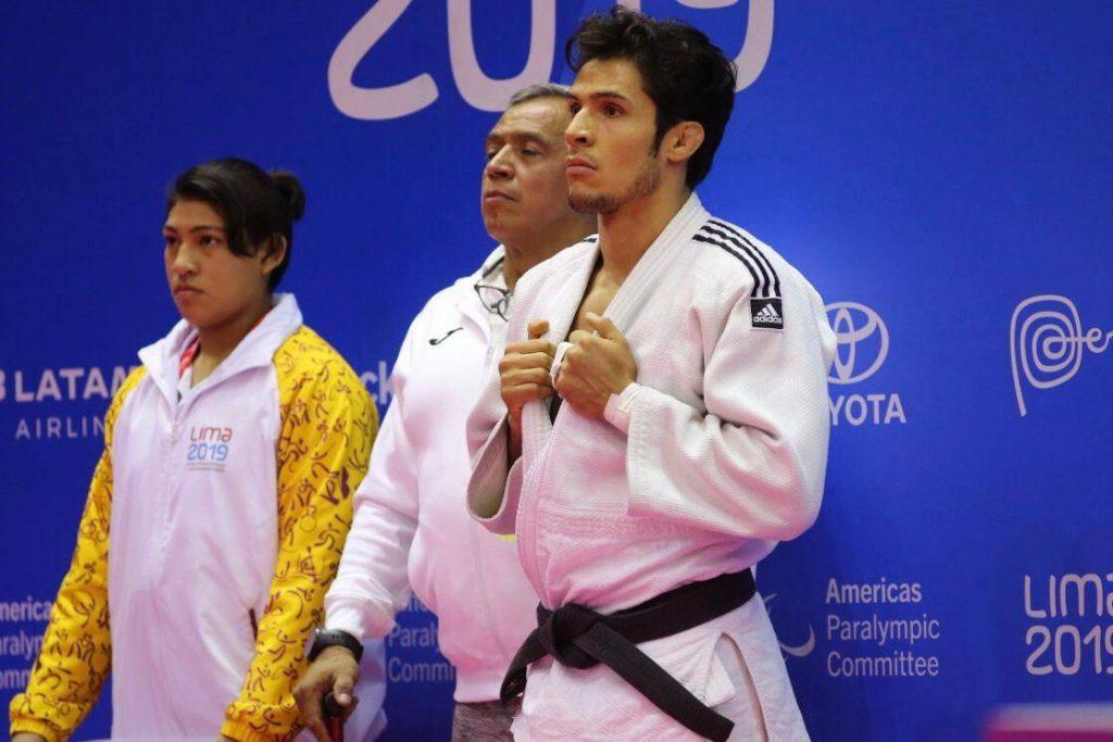 Eduardo Ávila se llevó el oro en judo.