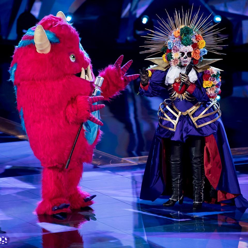 Catrina y Monstruo son dos de los participantes de ¿Quién es la máscara?