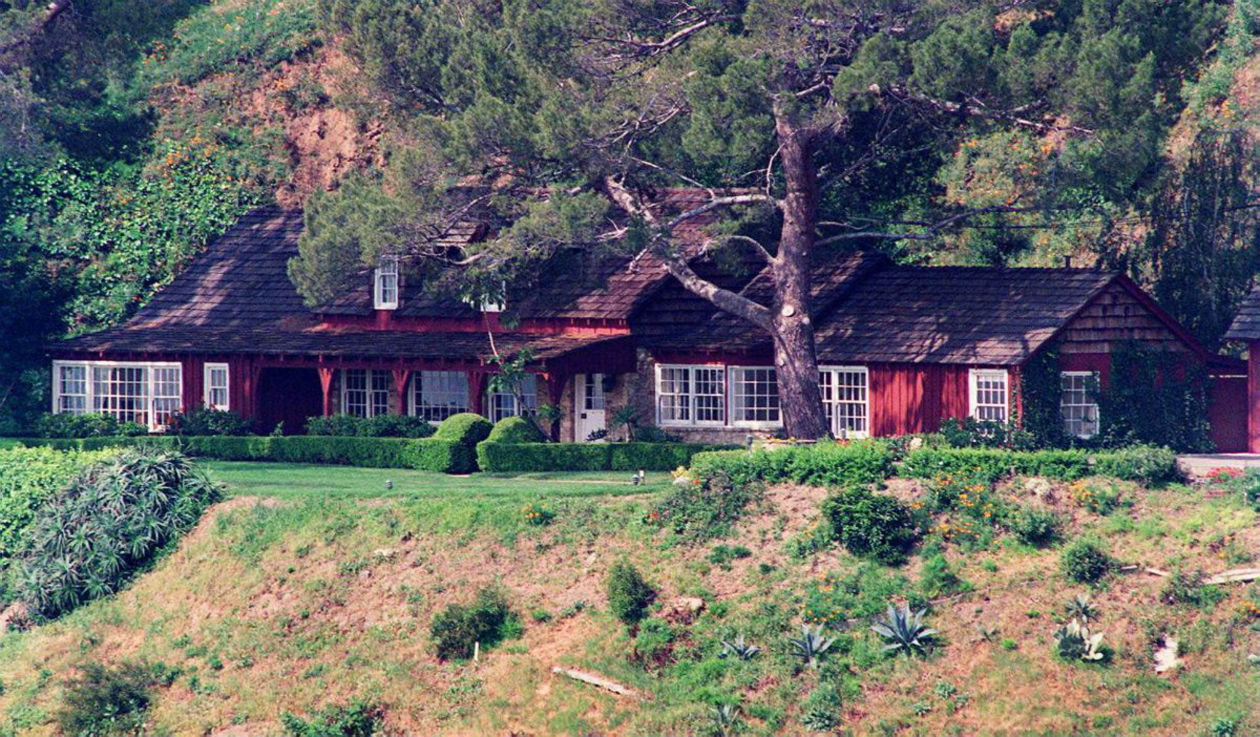 La casa donde Sharon Tate fue asesinada por la familia manson