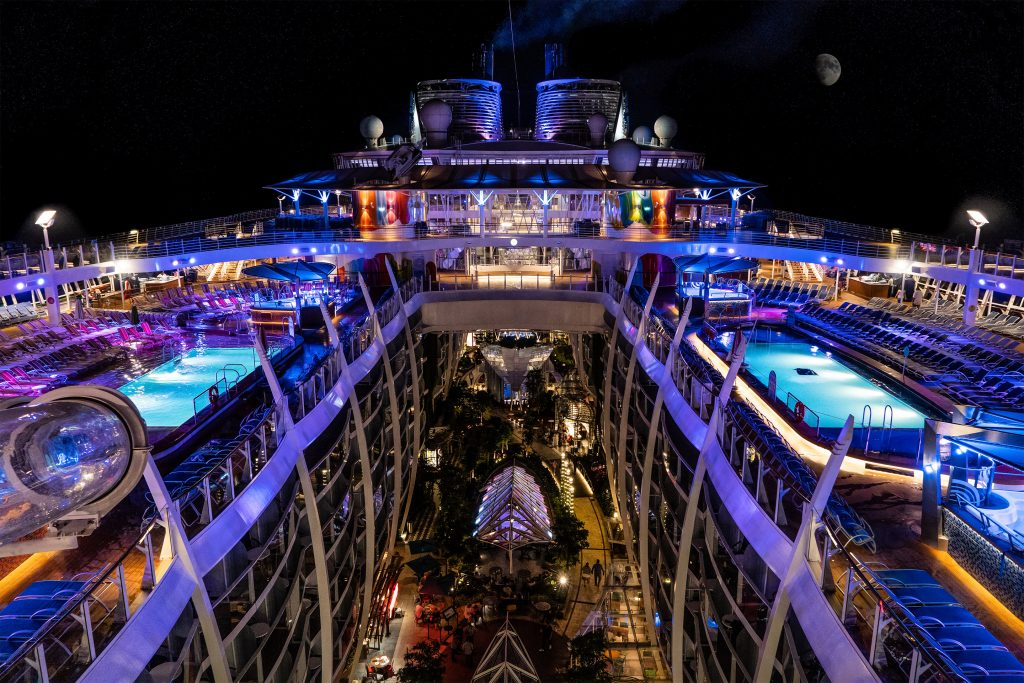 ¿Te animarías a embarcarte unos meses?. Cortesía: Royal Caribbean