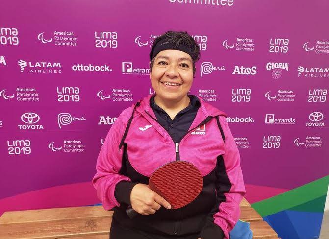 Claudia Pérez Villalba, oro en Tenis de mesa