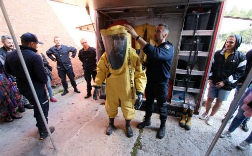 La tendencia de visitantes a Chernóbil aumentó incluso antes de la serie de HBO. Foto: AFP