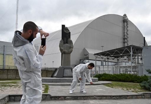 El gobierno ucraniano pretende impulsar más el turismo en la zona de Chernóbil. Foto: AFP