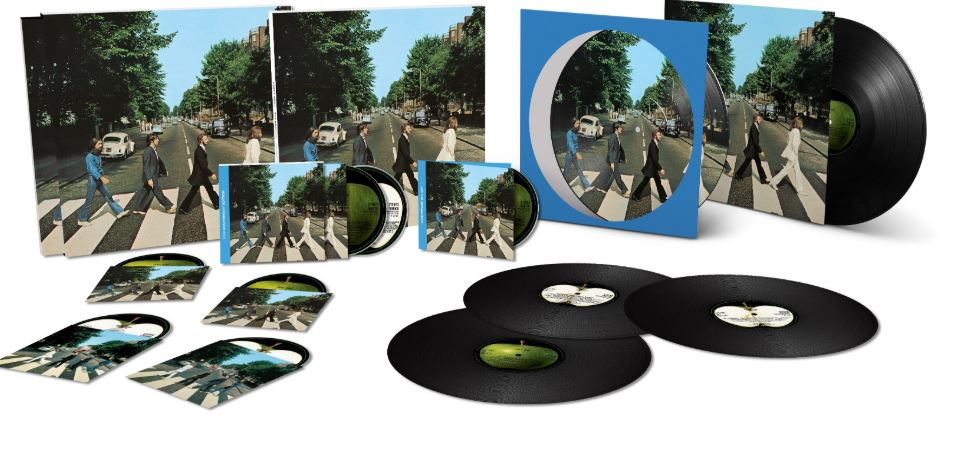 50 anos de abbey road disco the beatles