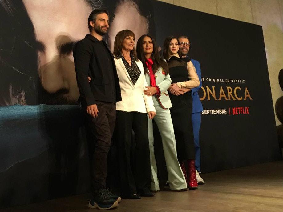 monarca serie netlfix actores elenco salma hayek