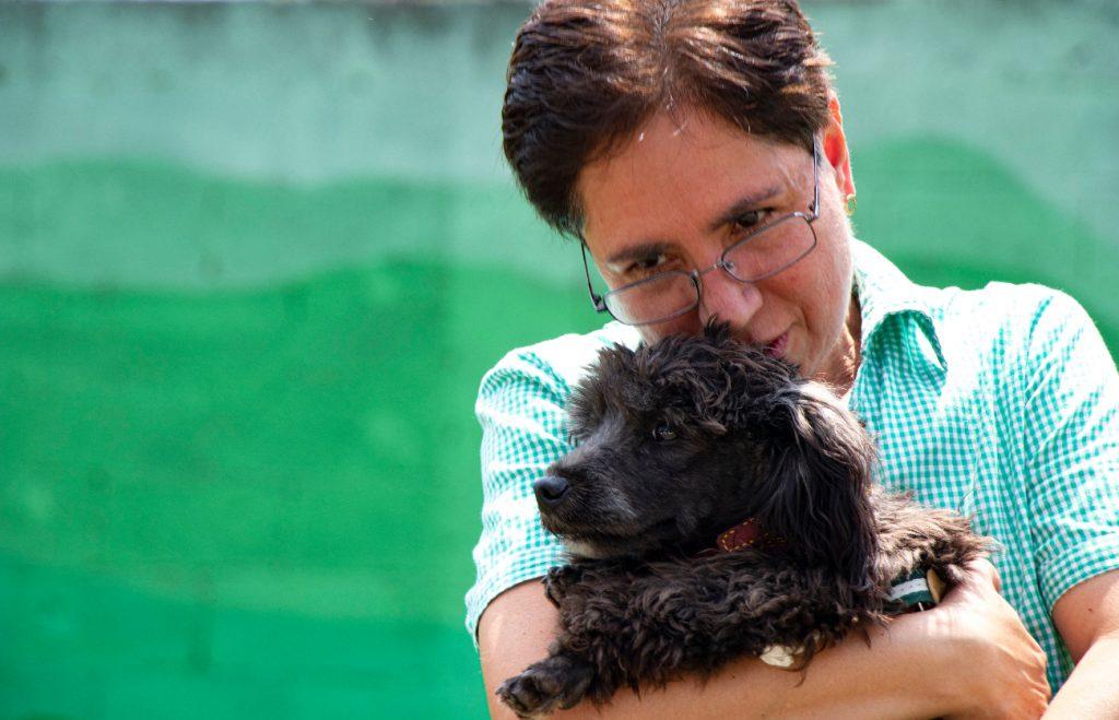 Piñoncito es un perrito hallado en la estación Peñón Viejo y ya fue adoptado.