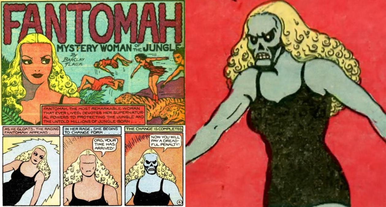 fantomah primera mujer superheroina she hulk criticas machistas