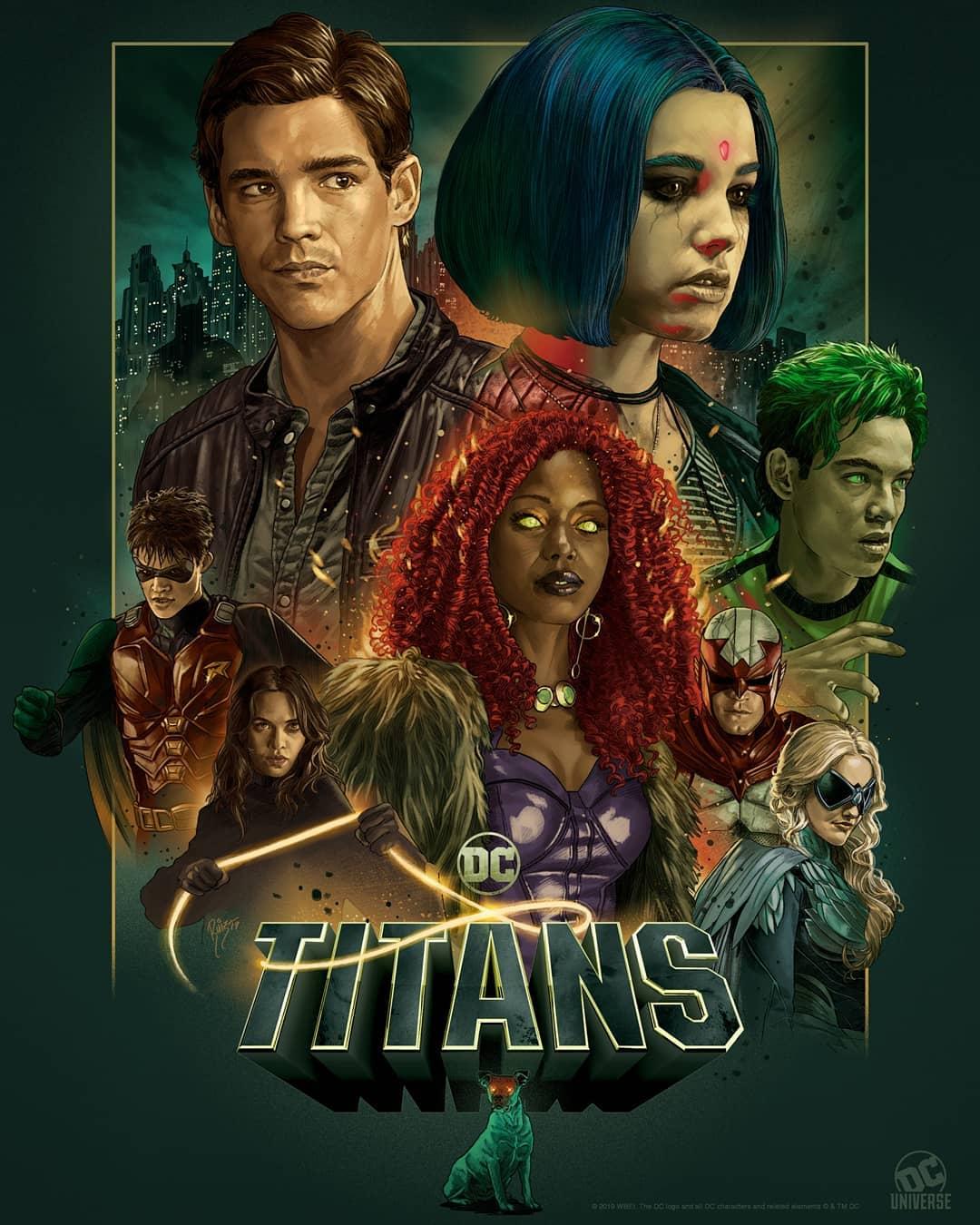 titans titanes 2 serie netflix reparto