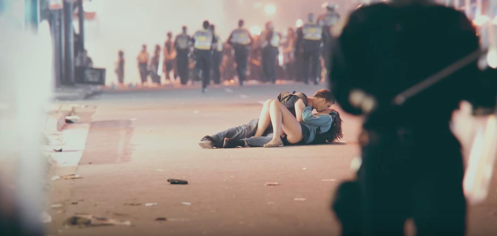 Beso disturbios