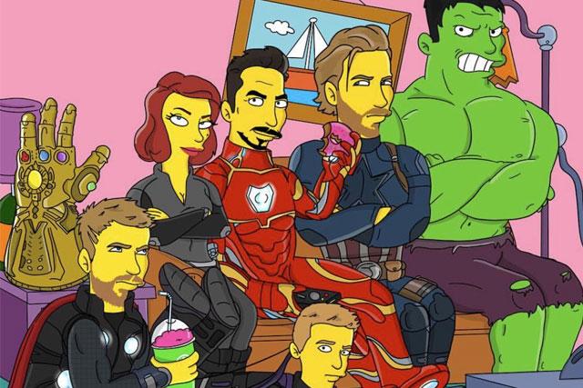 avengers simpson 2020