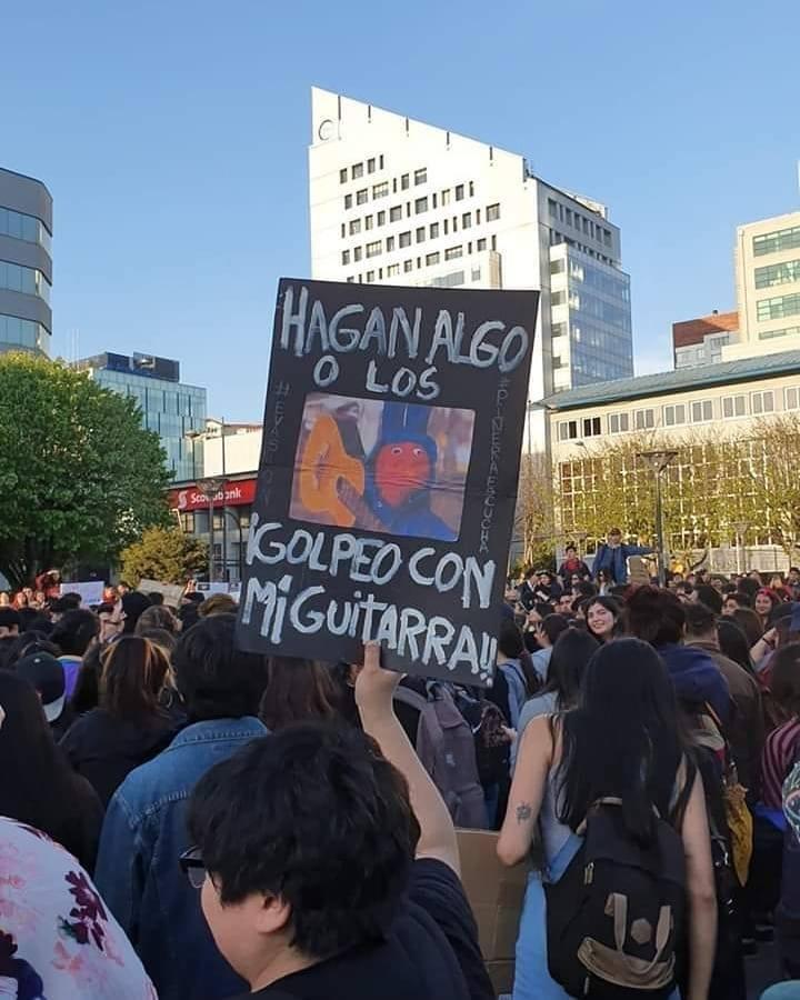chile manifestaciones 31 minutos