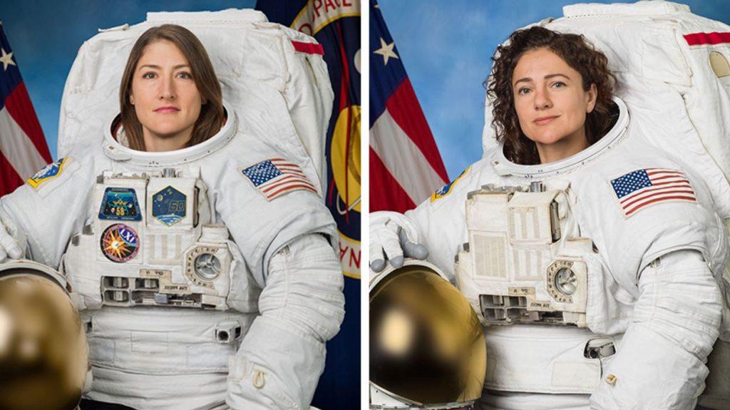como-ver-primera-caminata-espacial-mujeres-femenina-nasa-perfil