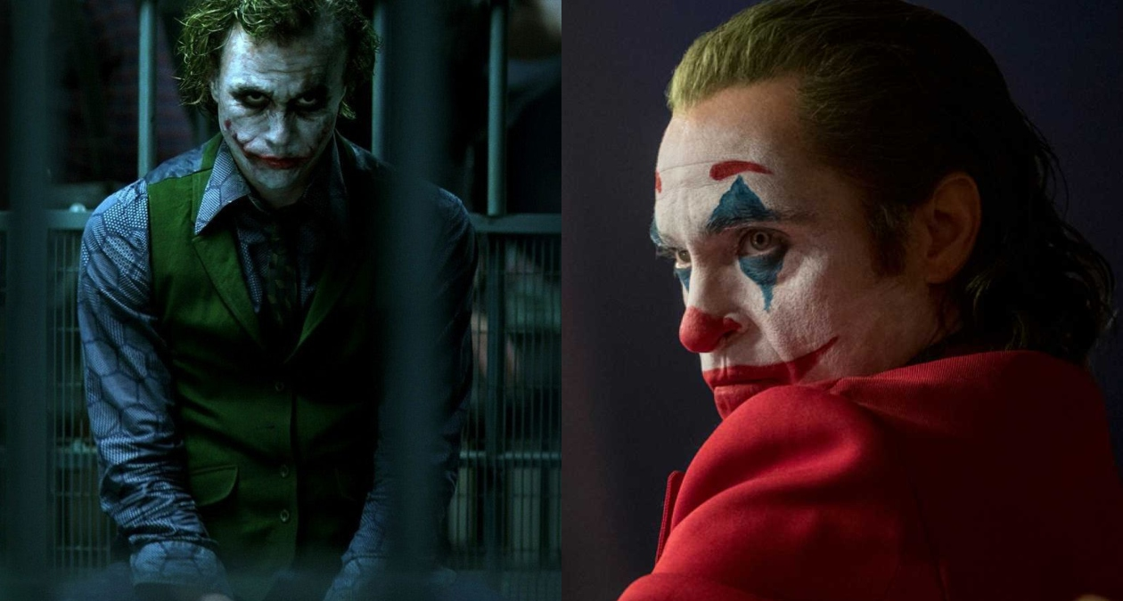 heath ledger joaquin phoenix joker diferencias