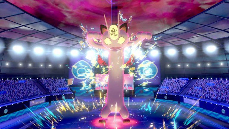 pokemon sword and shield pokemon gigamax meowth
