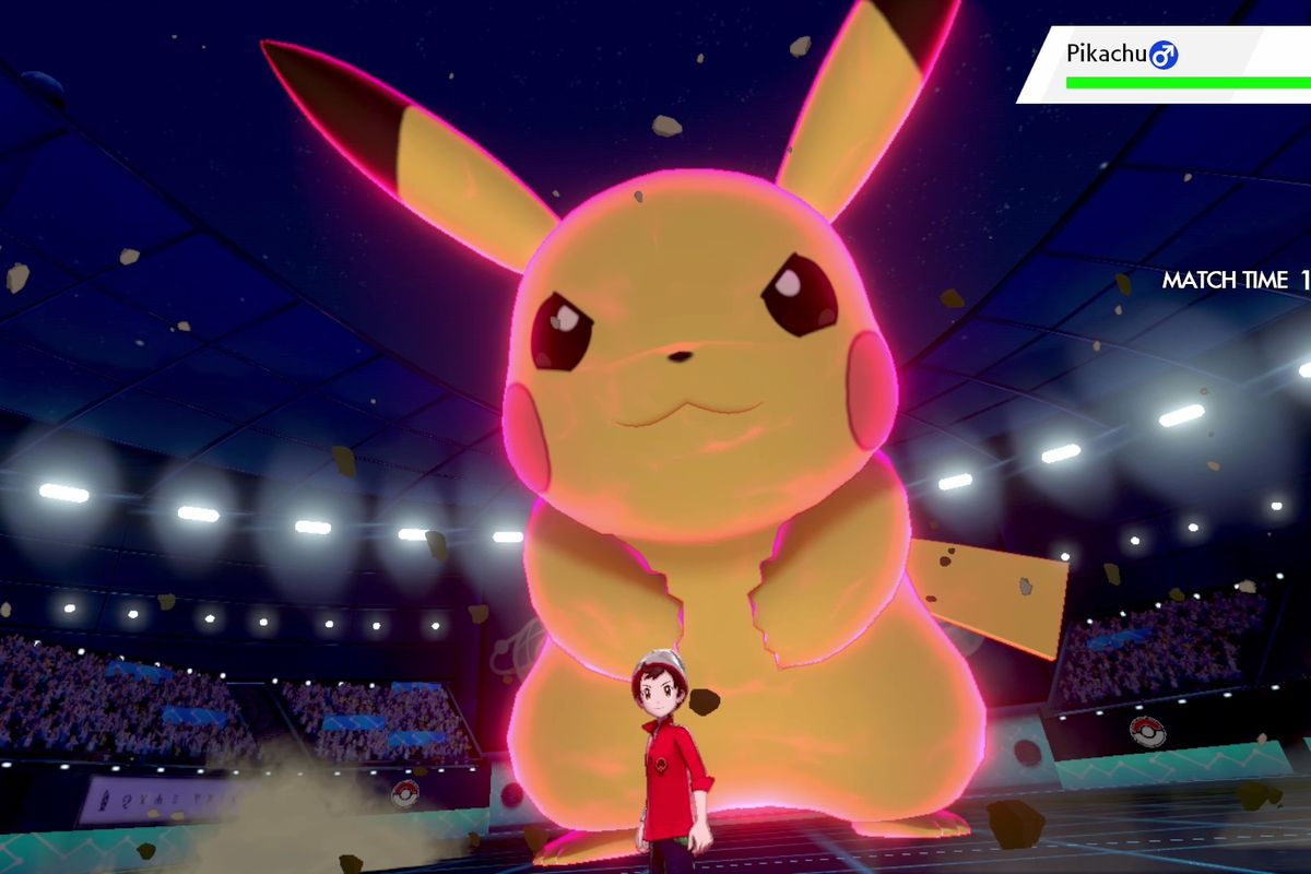 pokemon sword and shield pokemon gigamax pikachu