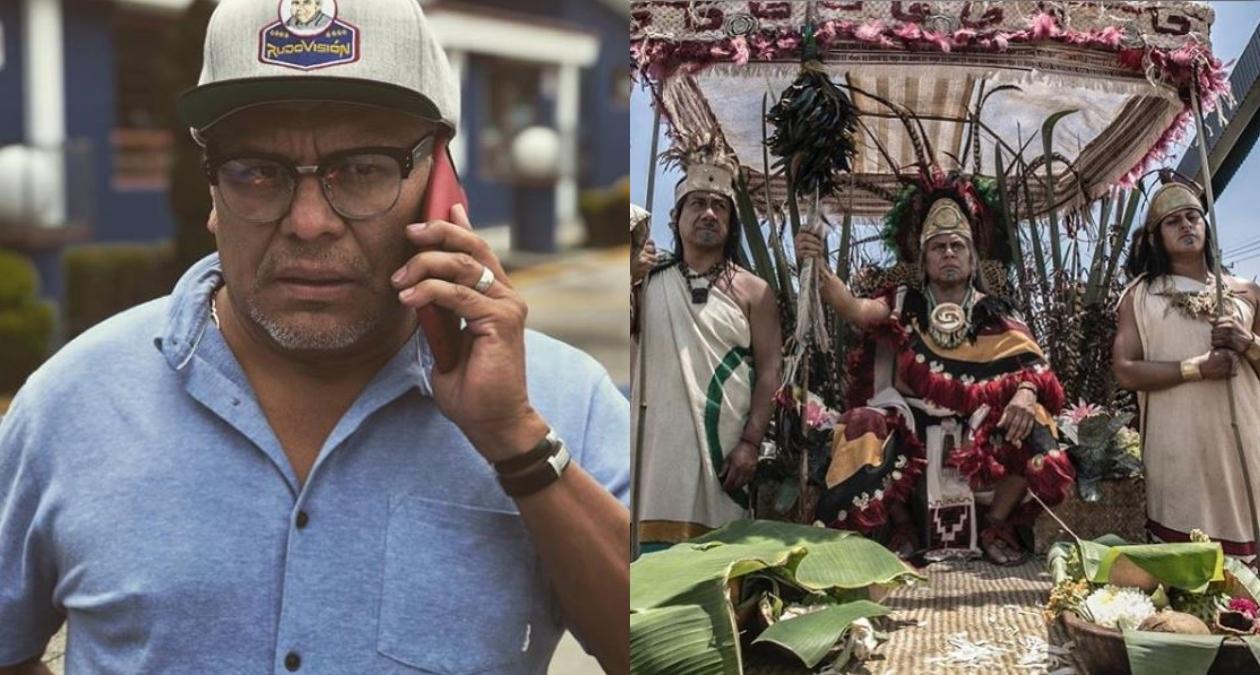 hernan cortes serie tv azteca reparto
