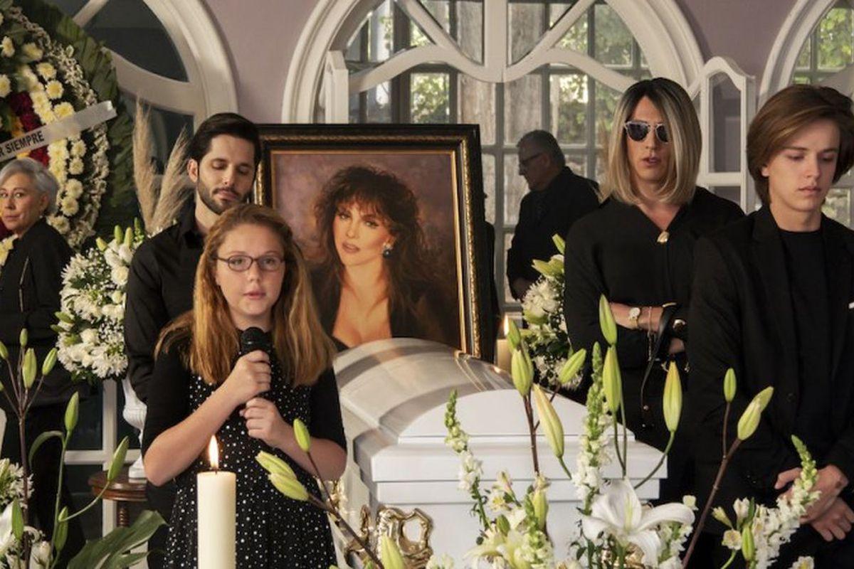 la casa delas flores funerald e virginia de la mora