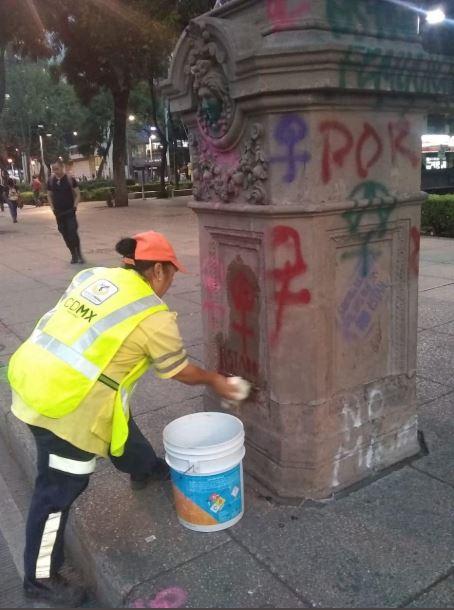 mala limpieza dana monumentos en reforma
