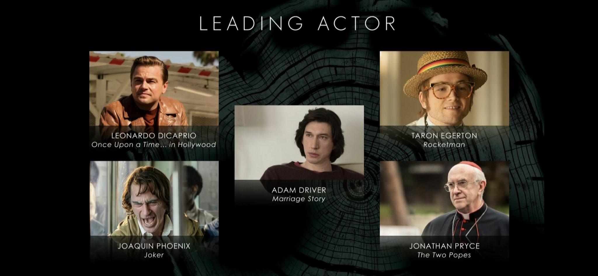 badta 2020 actores blancos nominados