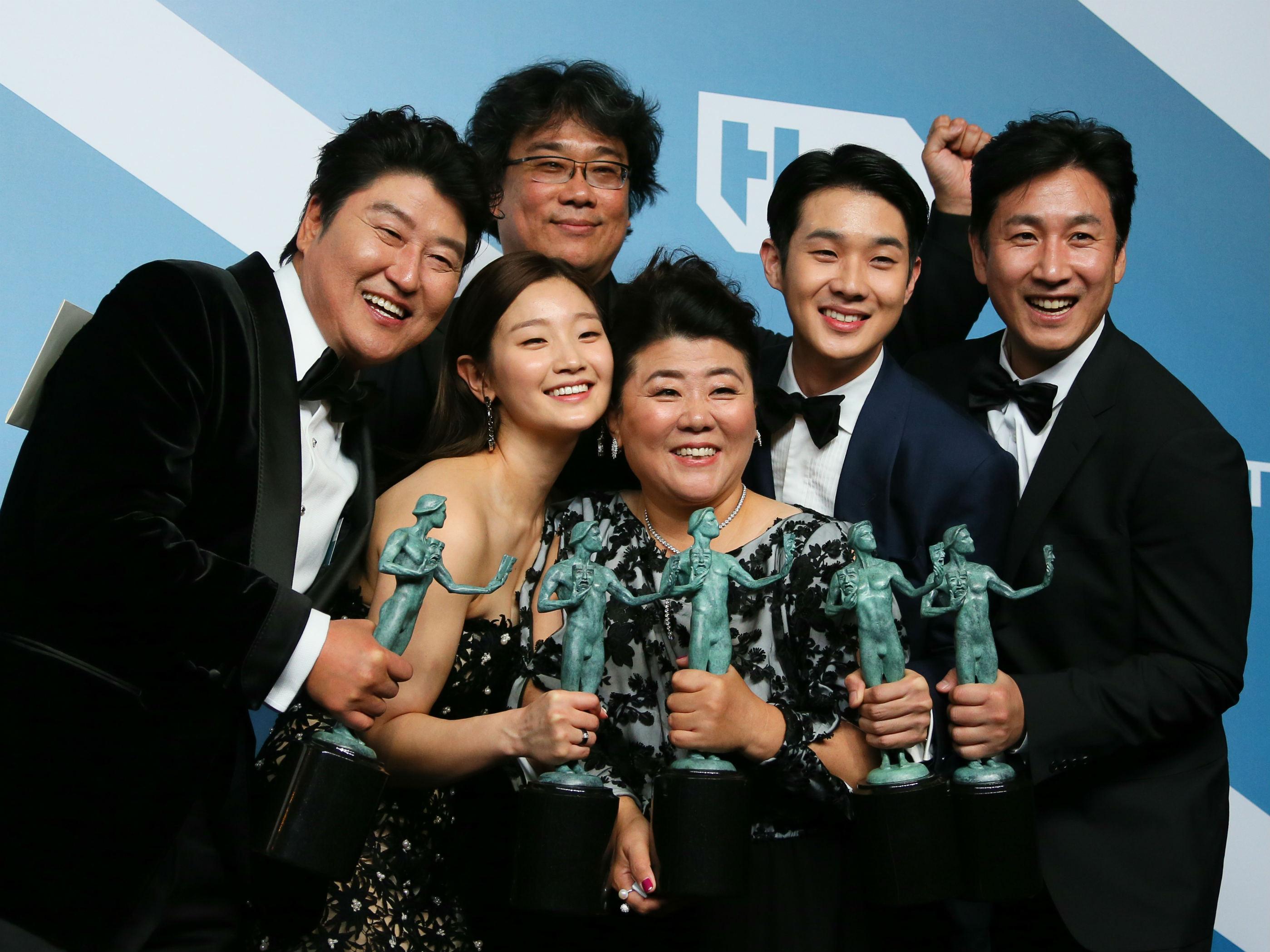 Sag Awards Parasite mejores momentos