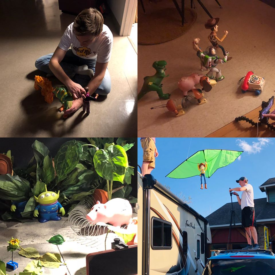 Toy story 3 remake stop motion