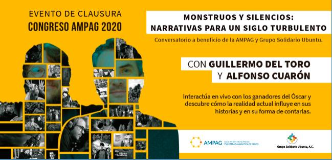 Guillermo del Toro y Alfonso Cuaron Guadalajara 2020