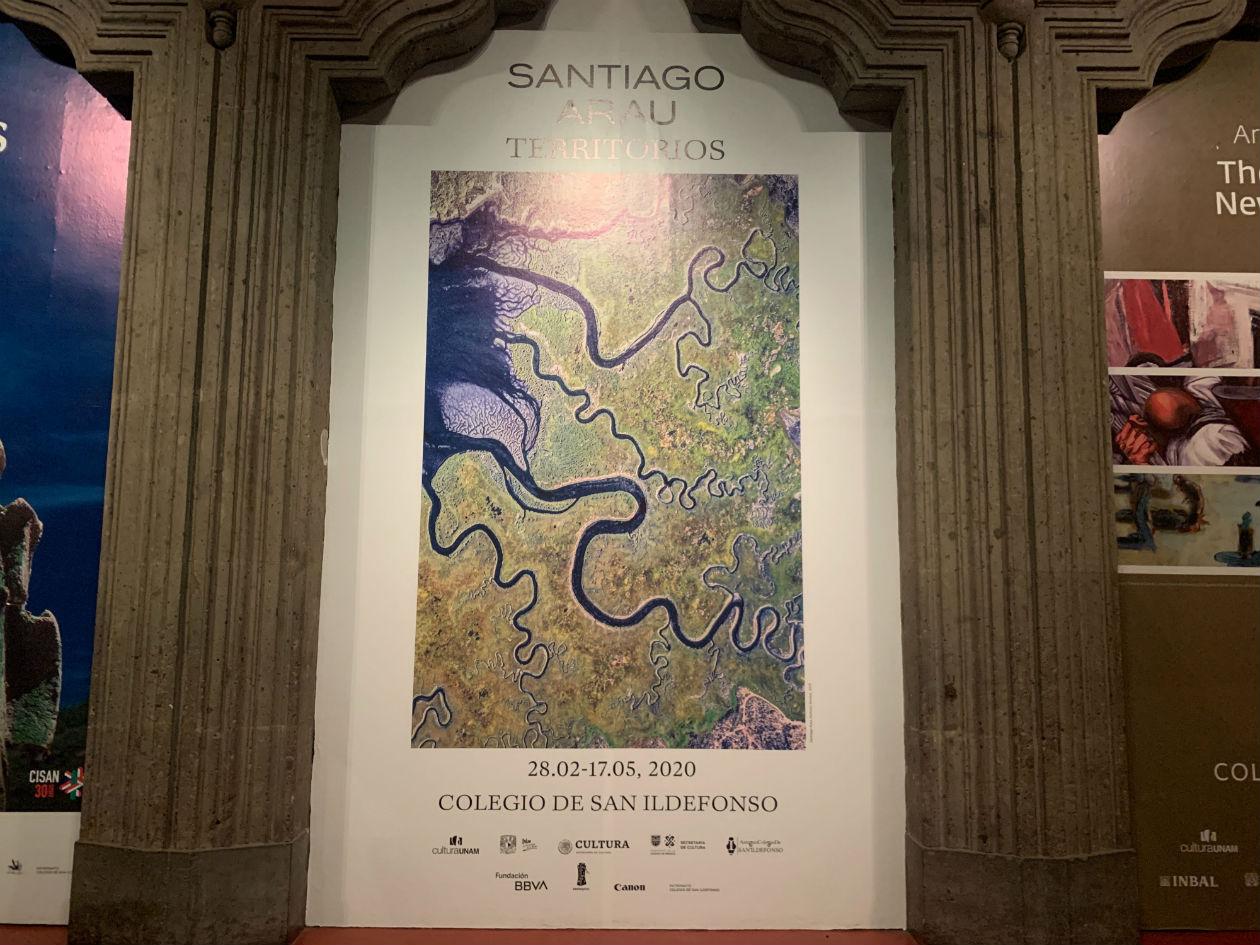 Santiago Arau presenta la exposición Territorios en el Antiguo Colegio de San Ildefonso