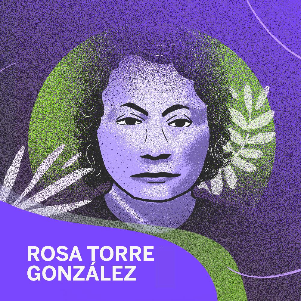 Rosa Torre González es una de las feministas mexicanas que nos abrieron el camino para el voto femenino.